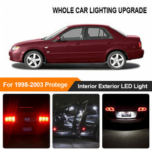 White Amber Car Bulbs Exterior Interior LED Light For 1998 1999-2003 Mazda Protege Reverse Brake Parking Trun Signal Lamp(China)