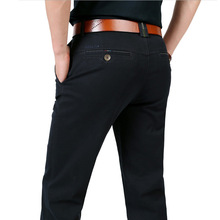 Denim Mens Pants Casual Pockets Cotton Cargo Pants