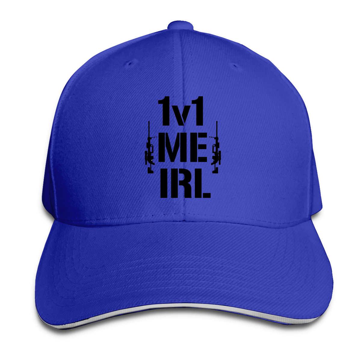 1v1 Me Irl бейсболка Мужская кепка s цвета женская мужская летняя кепка Snapback call of duty s