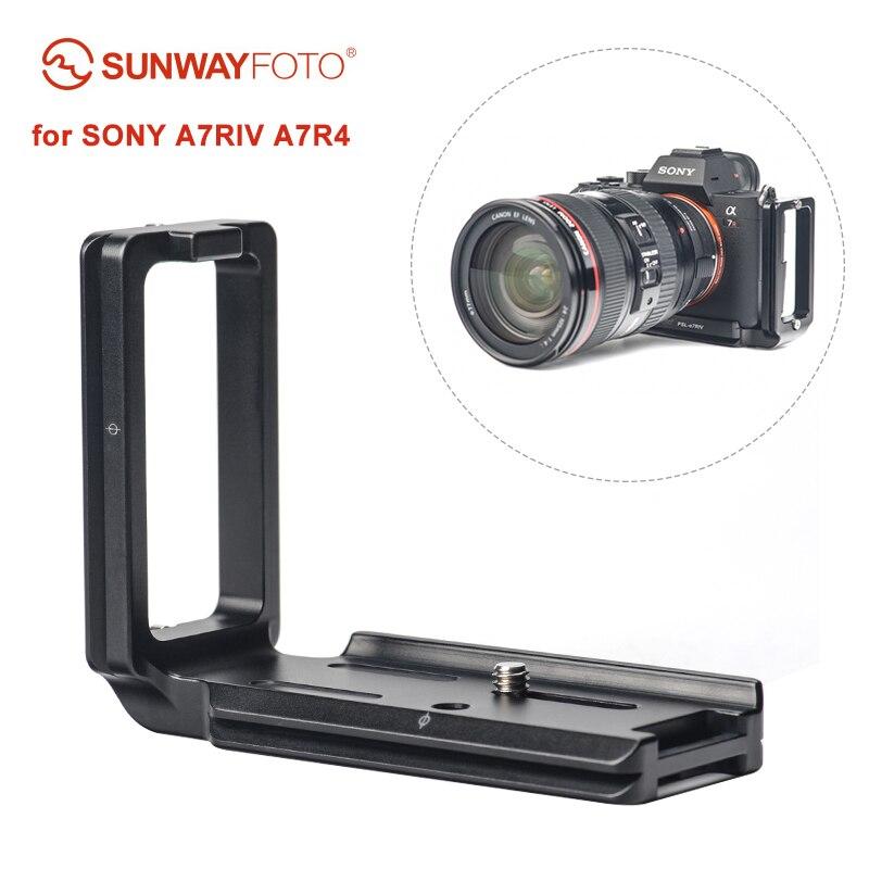 БЫСТРОРАЗЪЕМНАЯ пластина SUNWAYFOTO для камеры SONY A7RIV A7R4 L, пластина L, опорная пластина, форма