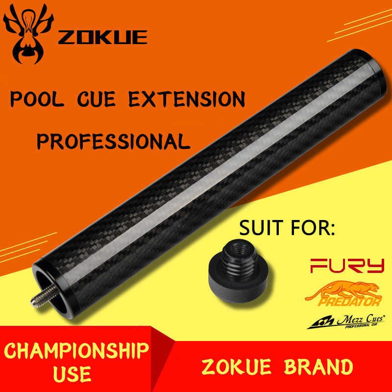 Extension de queue de piscine ZOKUE originale Extension de queue de billard multifonction combinaison Portable étendue pour MEZZ + fureur + queue de prédateur