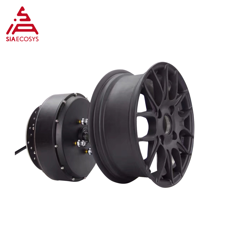 <font><b>QS</b></font> <font><b>Motor</b></font> 12*5.0inch <font><b>5000W</b></font> 260 V4 high effctive detachable in wheel hub <font><b>motor</b></font> for electric scooter image