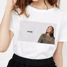 New America Singer Ariana Grande Picture Printing Vogue Casu