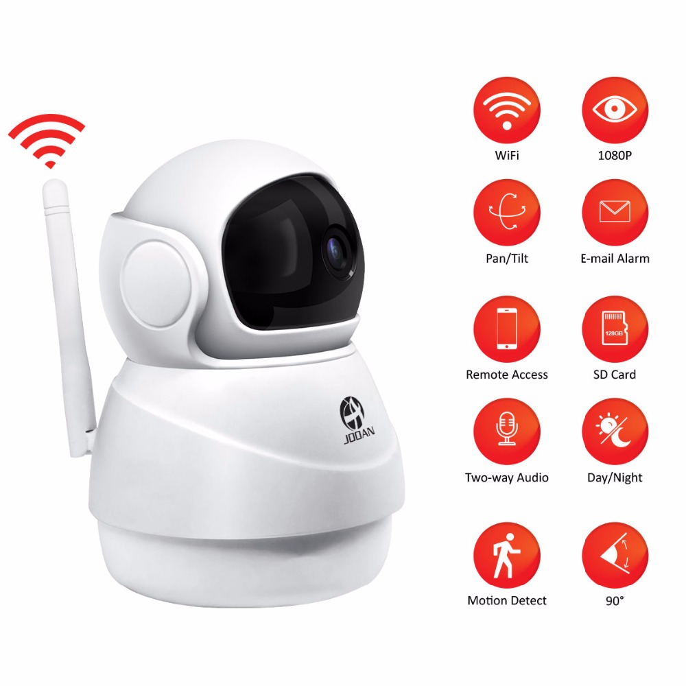 JOOAN Wireless IP Kamera 2MP Wifi Sicherheit Home Netzwerk Video Überwachung Mini Pet Kamera Indoor Baby Monitor 1080P
