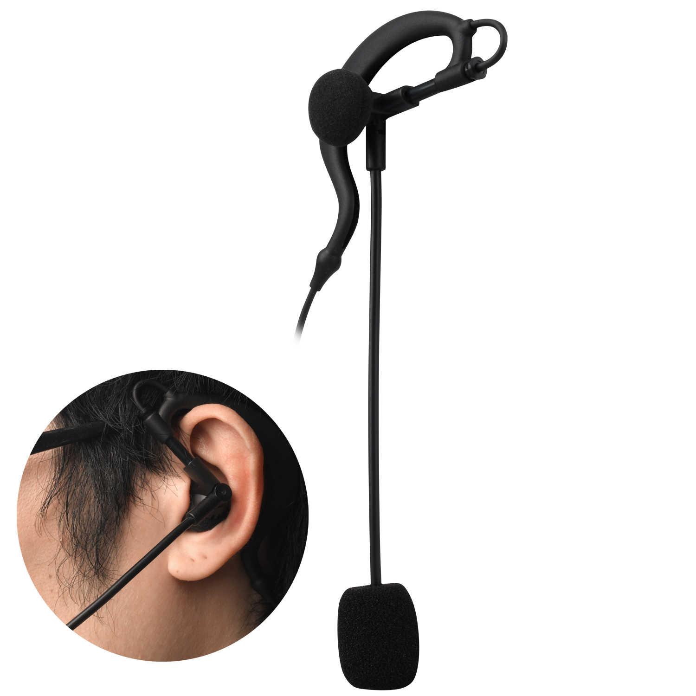 Fodsports V6 oreillette écouteur casque et Microphone costume pour V6 V4 Bluetooth interphone Football arbitre juge motard