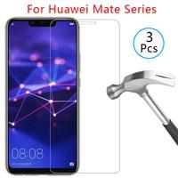 Fall für huawei mate 20 lite 30 10 pro licht abdeckung gehärtetem glas display-schutz auf maß 10lite 20 lite schutzhülle telefon coque