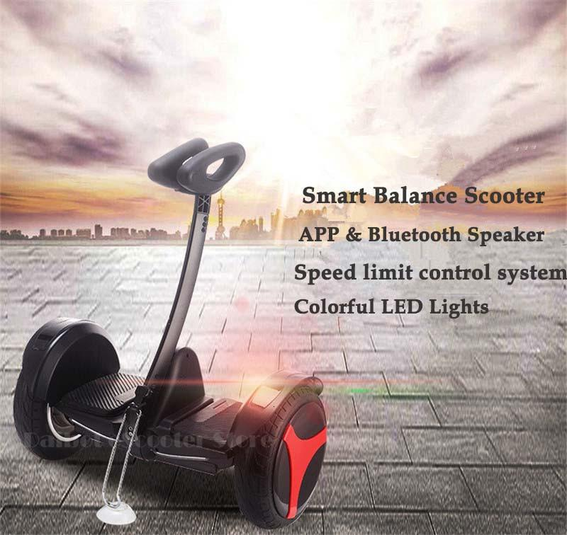 Daibot Oxboard Hoverboard Two Wheels Self Balancing Scooters with APP 10 Inch Self Balance Electric Scooter For Adults Kids      (4)