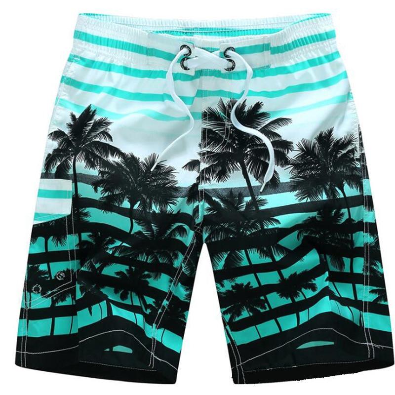 Quick Dry Men Beach   Short   Print Cool   Board     Shorts   Watersport Swim Trunks Summer Beachwear M L 6XL Extra Large 13+ colors