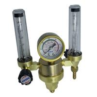 Double Meters Argon Regulator Welding Argon Gas Flow Meter, Reduced Pressure Meter