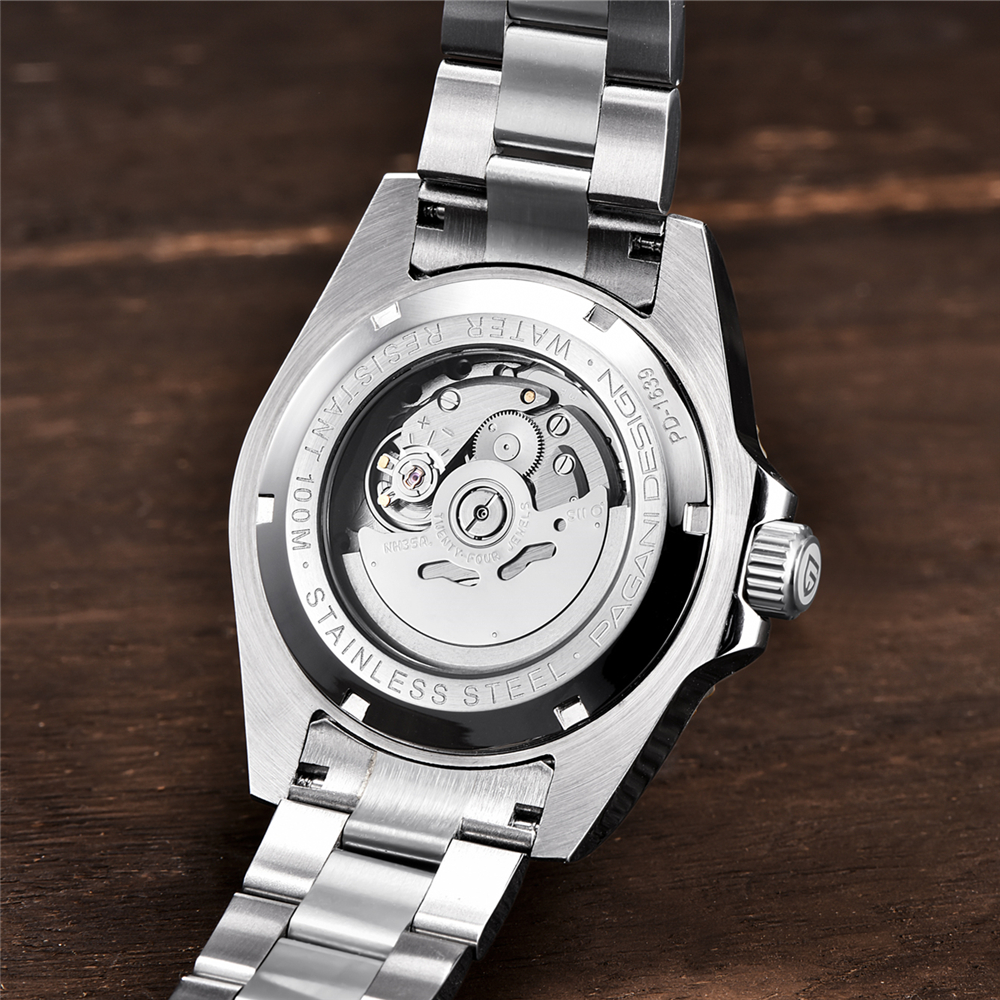 2019 NEW PAGANI DESIGN Brand Luxury Automatic Mechanical Watch Men stainless Steel Waterproof Business Men's Mechanical Watches - 6