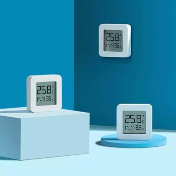 XIAOMI Mijia Bluetooth Thermometer 2 Wireless Smart Electric Digital Hygrometer Thermometer Work with Mijia APP 2