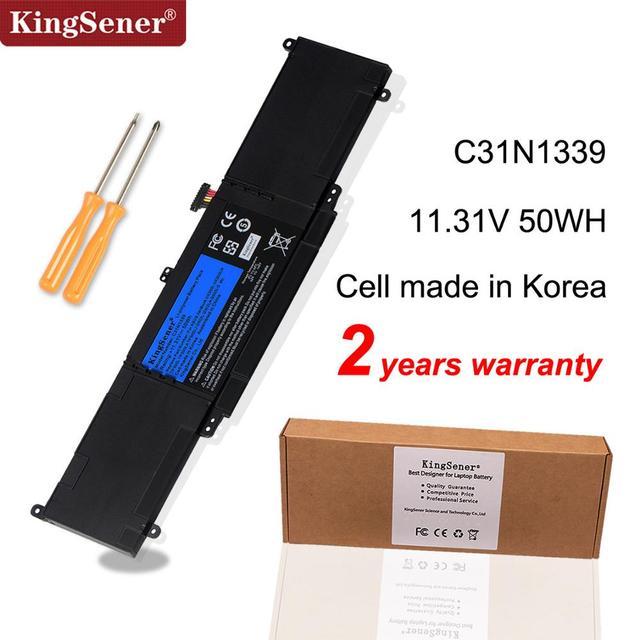 KingSener Batería de portátil C31N1339 para ASUS Zenbook UX303L UX303LN TP300L TP300LA TP300LJ Q302L Q302LA Q302LG C31N1339 50WH