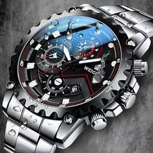 2021 Mens Watches Top Brand Luxury Quartz Watch Men Fashion Luminous Army Waterproof Men Wrist Watch Relogio Masculino 1010G