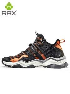 Image 4 - Rax mężczyźni oddychające buty górskie Trekking na świeżym powietrzu buty męskie sportowe trampki buty wspinaczkowe antypoślizgowe przebudzeniu buty górskie