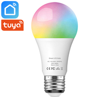 Tuya Smart Life Wifi Led Light Bulb Lamp E27 10W 900Lm RGB+6500K Cold White Works With Alexa Google Home IFTTT