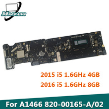 A1466 Logic-Board Macbook Air 820-00163-A for 13-I5 4GB/8GB Tested Original
