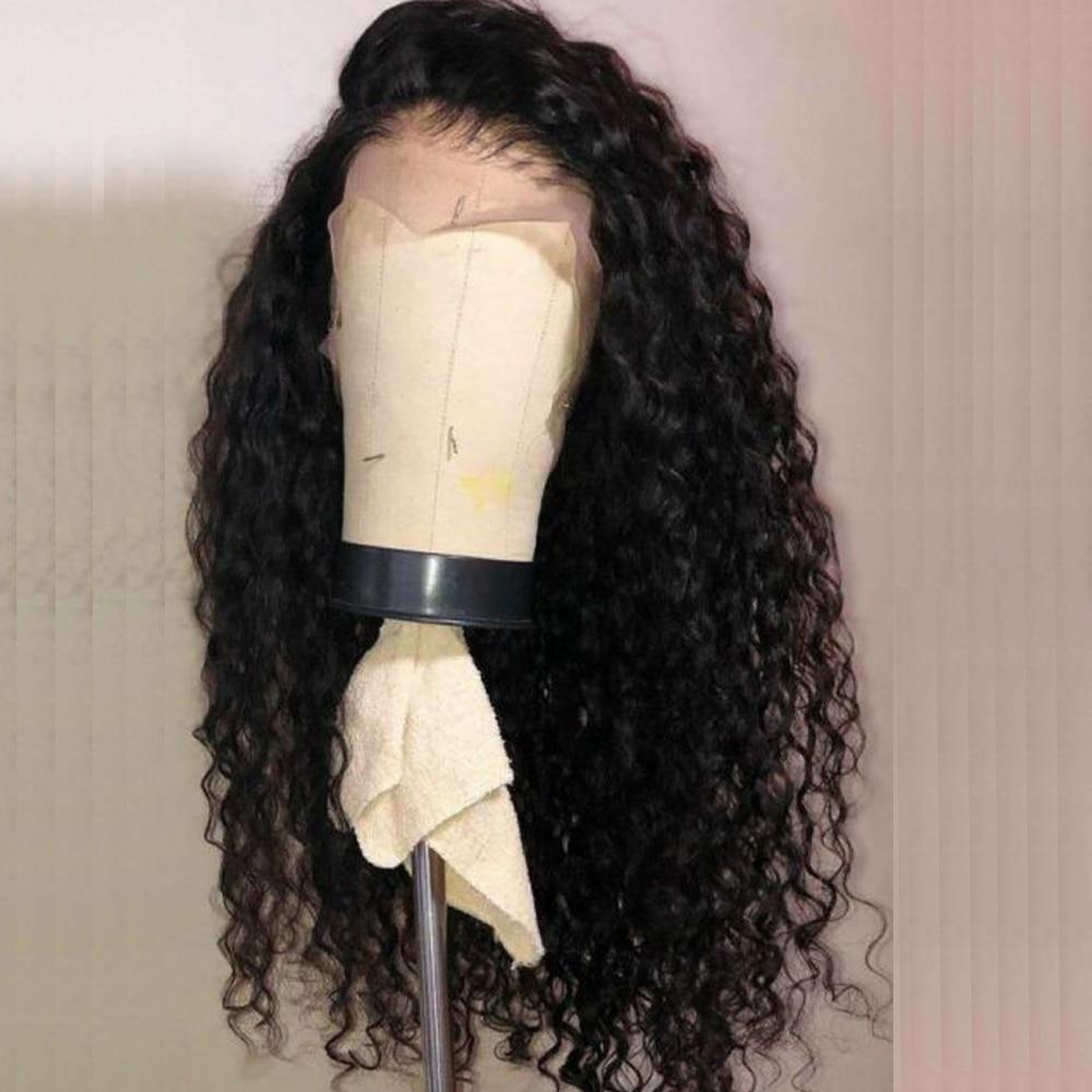 Preplucked 360 Deep Part Lace Frontal Human Hair Wigs Density Brazilian Deep Water Wave Human Hair Innrech Market.com