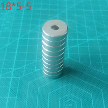 10pcs Super Strong Round Disc Magnets Rare-Earth Neodymium Magnet N35 18x5mm Super Powerful Strong Magnetic zion 10 20 50pcs dia 5x2mm small magnets n35 rare earth super mini round neodymium magnet disc 5 2mm permanent powerful magnetic