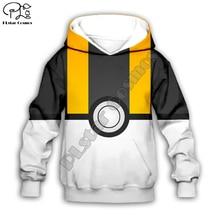 Kids Cloth Pokemon  Pikachu Cartoon 3d hoodies/tshirt/boy sweatshirt Hot Movie pant style-14