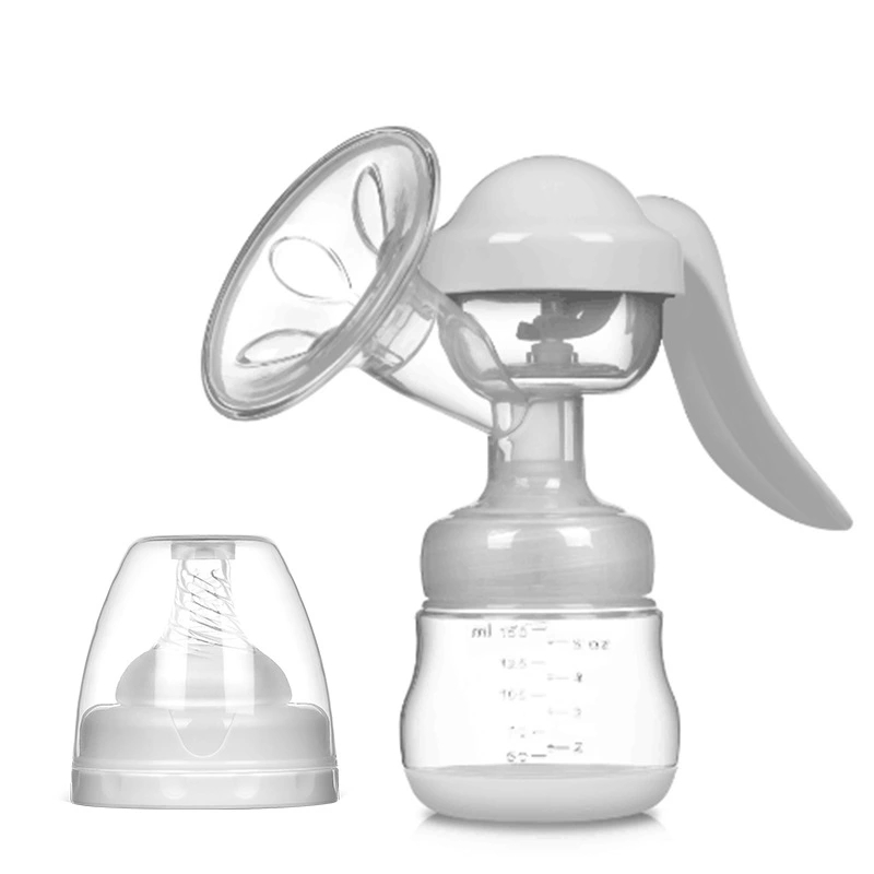 Breast Pump Powerful Baby Nipple Suction 150ml Feeding Milk Bottles Breasts Pumps Bottle Sucking