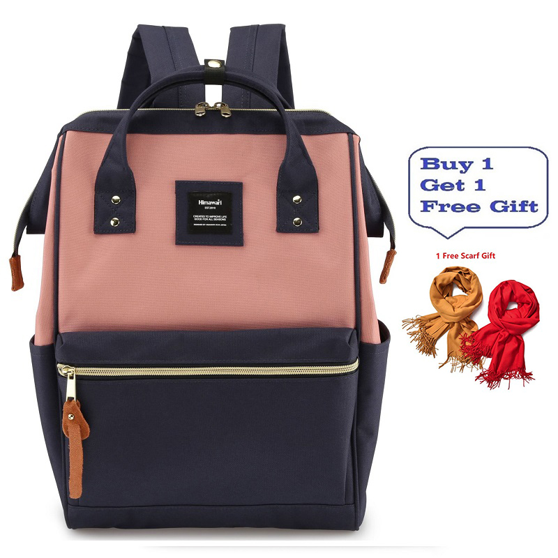 Fashion Women Backpack Travel Men Shoulder Bag 15.6 Laptop Backpack Large Capacity Cute Schoolbag For Teenager Girls Bagpack