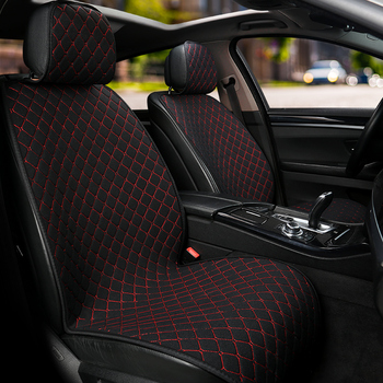 Car front seats cushion Protect Car Seat Covers Seat Cushion Protector seat Pad Mat  Auto Seat Fit Interior Accessories Styling appdee car seat covers for front back seat covers car cushion four seasons flocking cloth car styling auto accessories warm