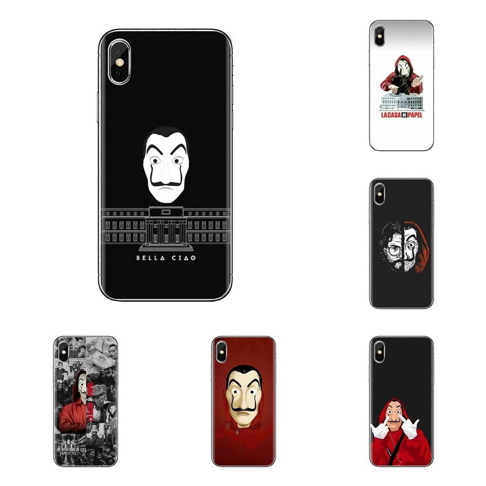 La Casa De Papel Money Heist For LG G3 G4 Mini G5 G6 G7 Q6 Q7 Q8 Q9 V10 V20 V30 X Power 2 3 K10 K4 K8 2017 Cell Phone Case Cover