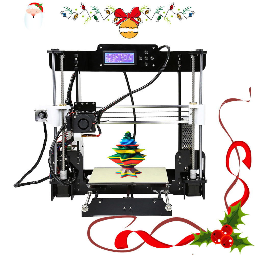 Anet A8 A6 Cheap 3d printer High Precision Prusa i3 FDM 3d printer Kit diy shipping from Moscow Russian European Warehouse