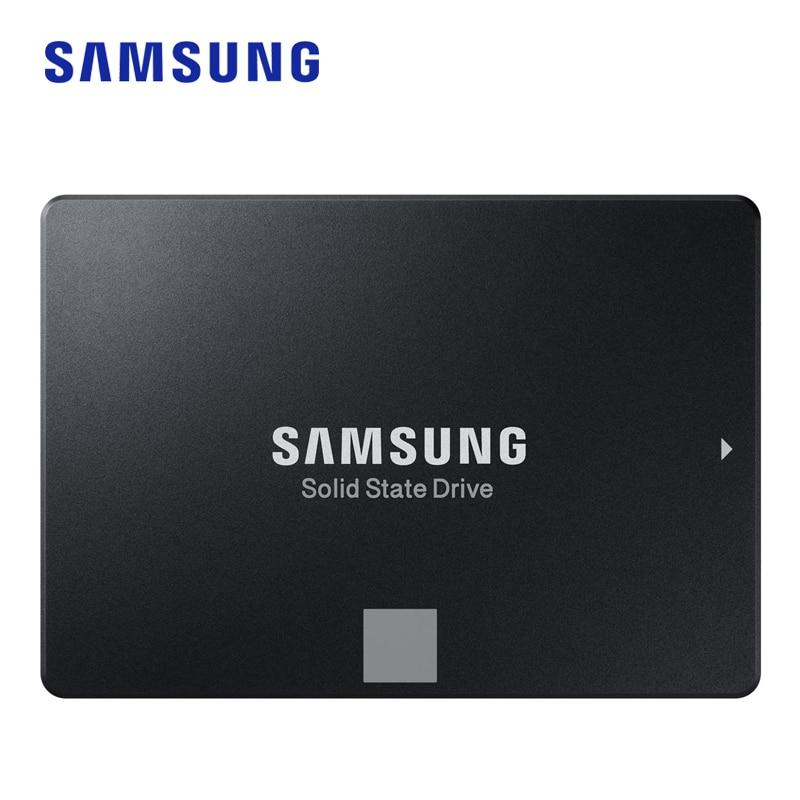 Samsung Ssd 860 Evo 250 Gb 500 Gb Unidade De Estado Sólido Interno Hdd Disco Rígido Sata3 2.5 Polegadas Notebook Desktop Velocid