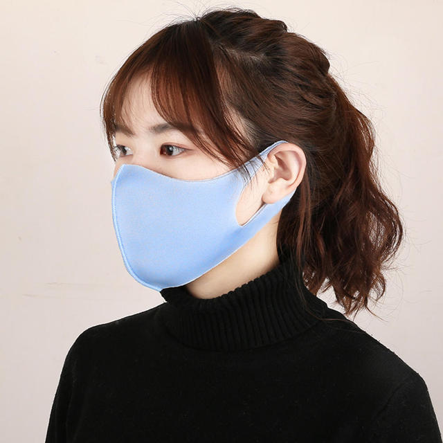 1 Pcs Mouth Mask Breathable Unisex Sponge Face Mask Reusable Anti Pollution Face Shield Wind Proof Mouth Cover 2