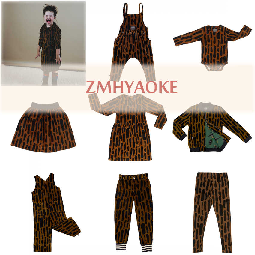 ZMHYAOKE-Carli Winter Girls Outfits Thanksgiving Leopard Toddler Girl Clothes First Christmas Boy Clothes Girls Outfits