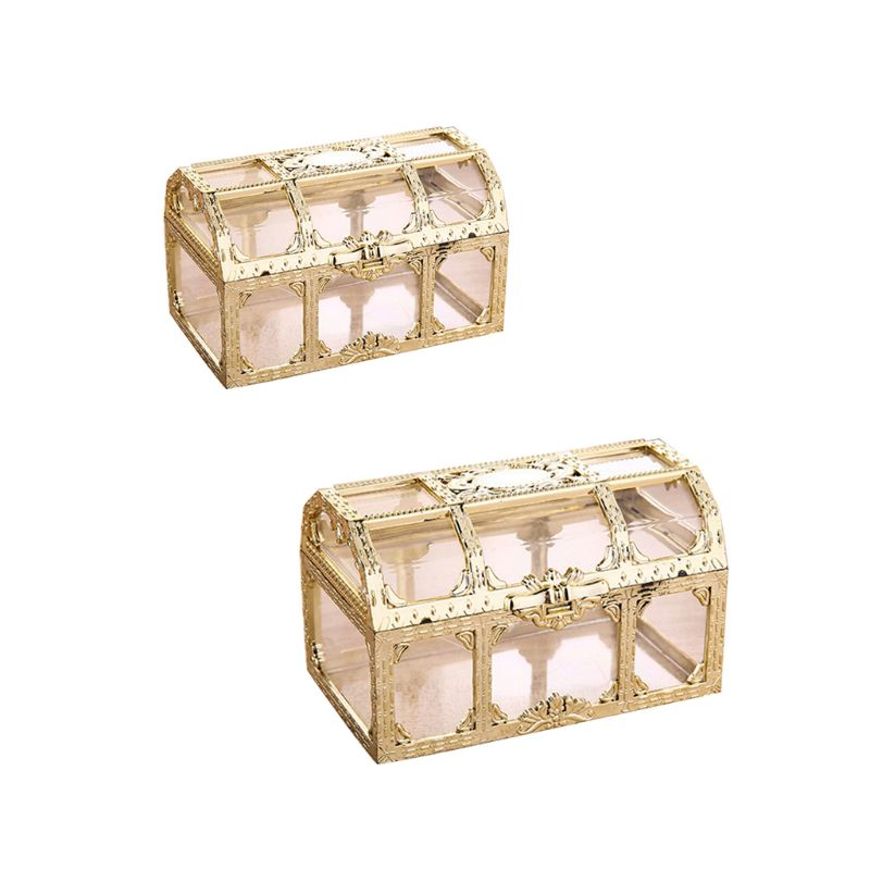Wedding Jewelry Box Sweet Ring Earrings Necklace Case Gift Birthday Party Decoration Jewellery Bead Storage Container