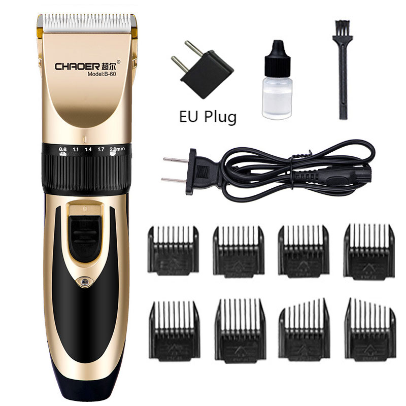 Adult Children\'s Haircut Rechargeable Professional Electric Hair Clipper Electric Haircut Ceramic Hair Clipper Razor