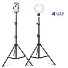 Statyw do telefonu z lampa pierścieniowa Camara elastyczny statyw do Selfie stojak na Youtube makijaż wideo na żywo fotografia studyjna