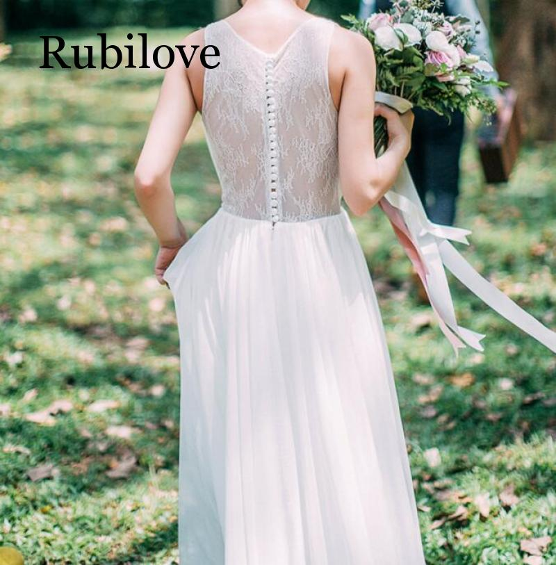 Rubilove 2019 Lightweight chiffon lace small trailing outdoor lawn travel vacation simple beach beach Sen light dress in Dresses from Women 39 s Clothing