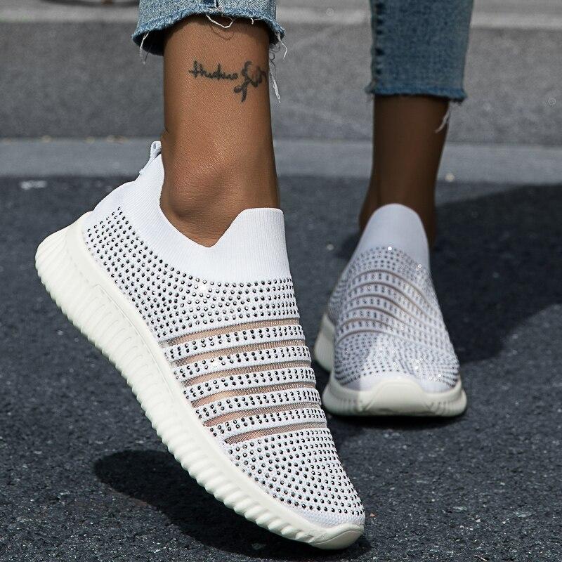 Ladies Shoes Sneakers Comfortable Women's Soft-Sock Walking Jogging 35-43 Damyuan Casual
