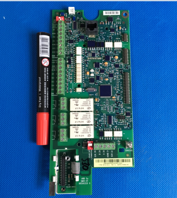 ABB Inverter ACS550 Series 15/22/30/37/45KW Mainboard CPU Board Io Control Board SMIO-01C