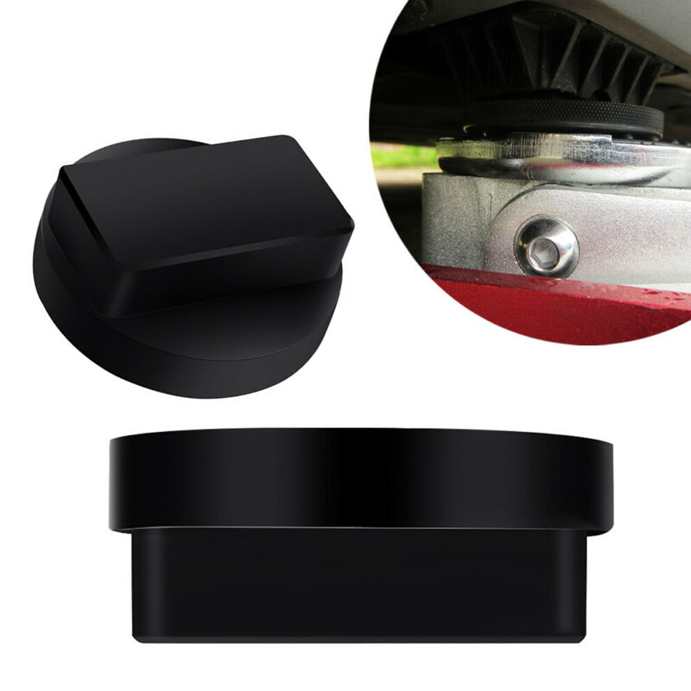 Tool Jack Pad For Mercedes Benz 1pc Black Rubber Auto Support Protector