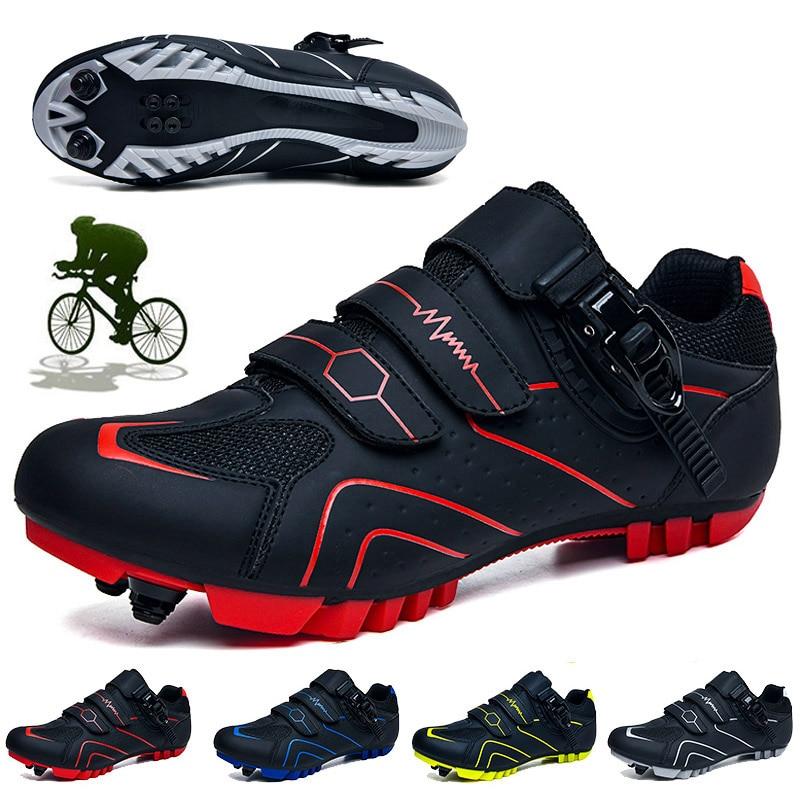 Кроссовки велосипедные унисекс, профессиональная обувь для езды на горном велосипеде, самоблокирующиеся, для улицы