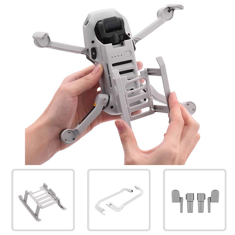 Landing Gear For DJI Mavic Mini Height Extended Leg Protector Quick Release Feet Extensions For DJI Mavic Mini Drone Accessories