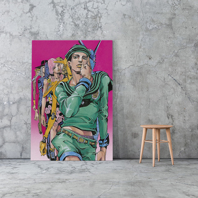JoJolion Painting Home Decor