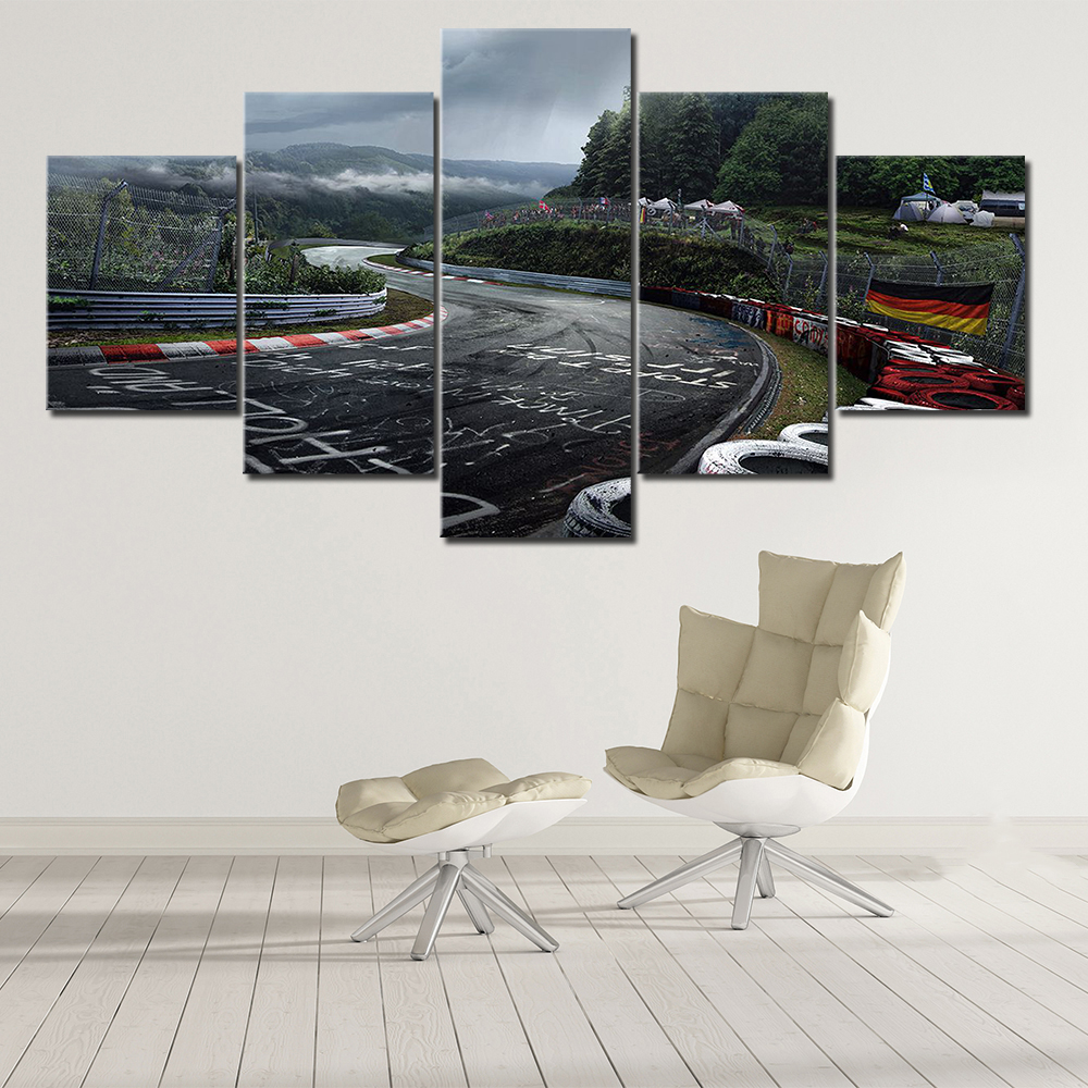 H13672a355e1943b9ac2dfa6345dbb7dcZ Canvas HD Prints Paintings Wall Art Home Decor 5 Pieces Welcome Dropshipping Wholesale We Can Provide All The Pictures
