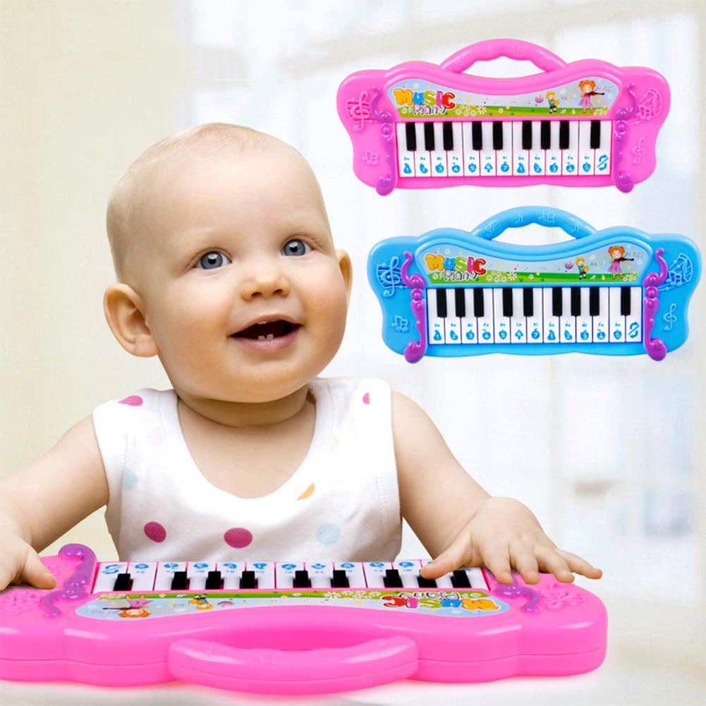 Kids Children Piano Toys Mini Electronic Piano Keyboard Musical Instrument Toy With 7 Pre-Loaded Demo Songs For Kid Gifts