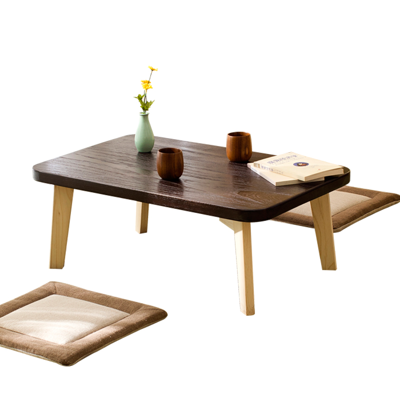 Solid Wood Coffee Table Japanese-style Tatami Bay Window Table Small Table Balcony Small Tea Table Simple Window Table