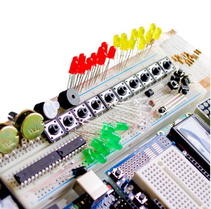 Image 3 - Starter Kit for arduino Uno R3 Breadboard and holder Step Motor Servo 1602 LCD  jumper Wire