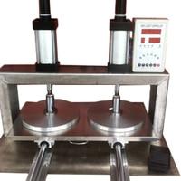 1PC Duplo cabeça Pneumática Automática Massa Pressionando Máquina Pressionando Mão Pressionando A Massa Do Bolo Máquina de Bolo de Arroz Bolo Mão|Machine Centre| |  -