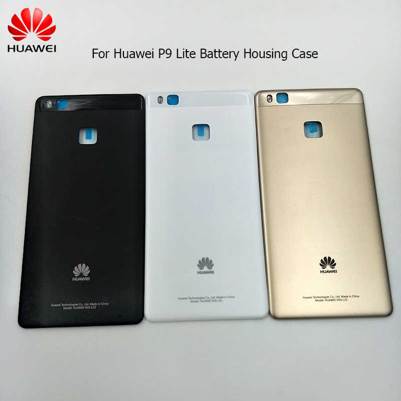 Huawei P9 Lite Original 3D Glass Battery Cover Replacement Back Rear Door Housing Case For Huawei P9 Lite With Adhesive Sticker
