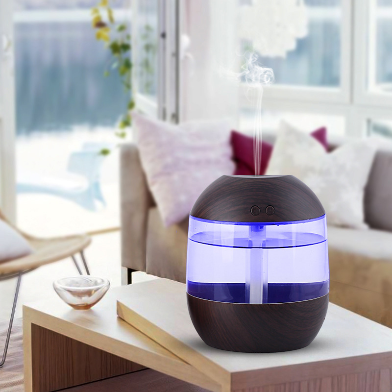 USB Humidifier Aromatherapy Double-button LED Air Home Office Hotel Fragrances Accessories