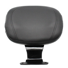 Motorcycle Driver Rider Leather Sponge Backrest Replacement for Honda VTX1300