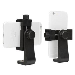 Image 5 - 撮影ユニバーサル 360 アダプタ携帯電話切りホルダー垂直ブラケットスマートフォン Iphone × 8 7 サムスン Xiaomi 電話